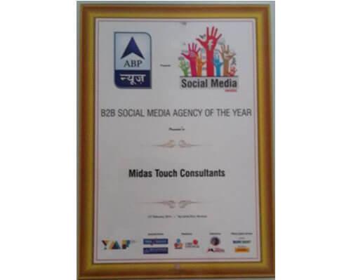 B2B Social Media Agency Award