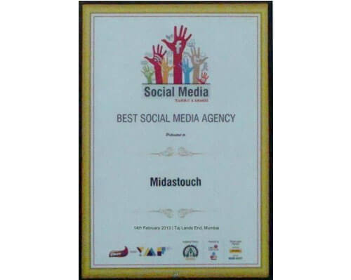 Best Social Media Agency Award