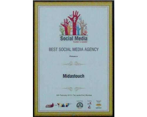 Best Social Media Agency Award