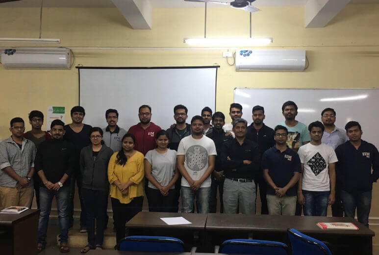 course module on social media for business at IIM Sambhalpur