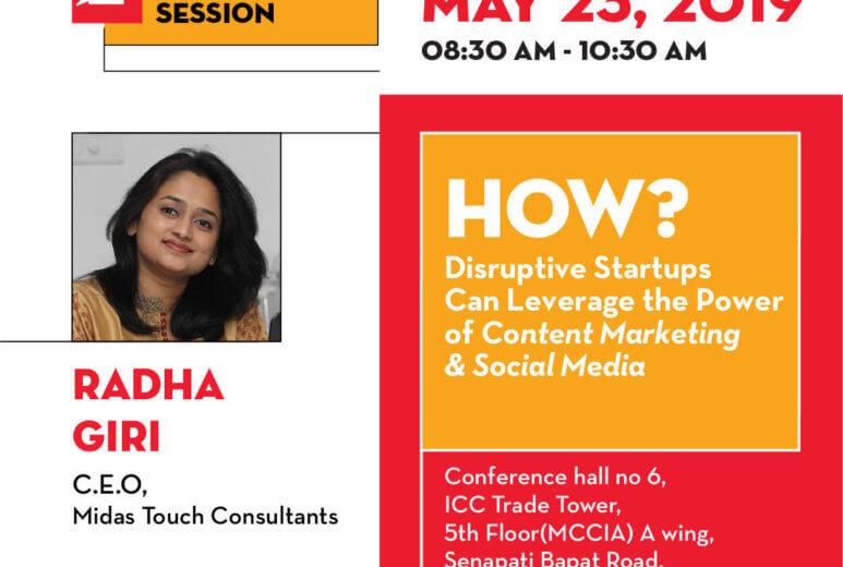 Radha Giri at TiE Pune Interactive Breakfast Session